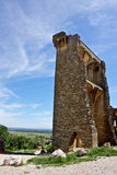 Ancient Castle in Châteauneuf-du-Pape Royalty Free Stock Photos