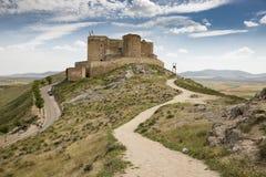 Ancient castle in Consuegra, province of Toledo, Castilla-La Mancha, Spain Royalty Free Stock Image