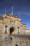 Ancient Castle in Edinburgh. Entrance into the Edinburgh Castle, Scotland Stock Photo