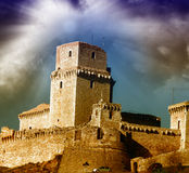 Ancient Castle of Europe Royalty Free Stock Photo