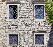 Ancient Castle Facade Stock Photos