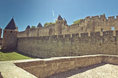 Ancient castle fortress Stock Photos