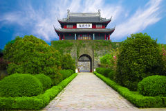 Ancient castle gate Royalty Free Stock Photo