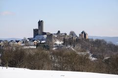 Ancient Castle in Germany stock image