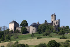 Ancient Castle in Germany Royalty Free Stock Photography