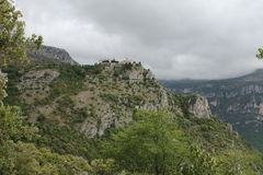 Ancient castle in Gourdone Royalty Free Stock Photos