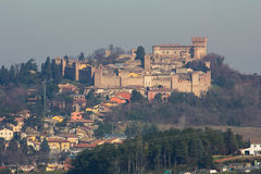 Ancient castle of Gradara Royalty Free Stock Photo