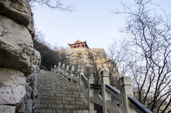 Ancient castle, Hebei, China Royalty Free Stock Image