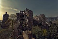 Ancient castle in Heidelberg Stock Image