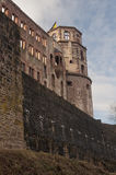 The ancient castle of Heidelberg in Germany Stock Photos