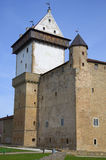 At the ancient castle of Herman. Narva Royalty Free Stock Image