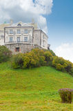 Ancient castle on a hill Royalty Free Stock Photo