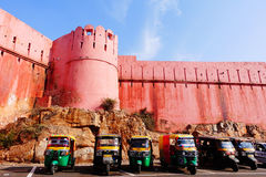Ancient castle in India Royalty Free Stock Photos