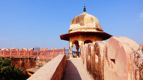 Ancient castle in India Stock Photos