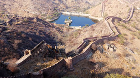 Ancient castle in India Royalty Free Stock Images