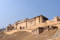 Ancient castle in India Stock Images