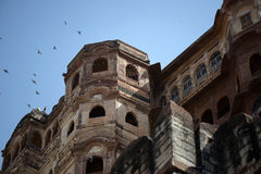 An ancient castle in India Stock Images