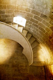 Ancient castle interior in a castle Stock Photography