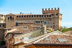 Ancient castle, Italy. Royalty Free Stock Images