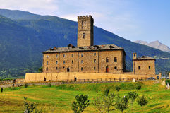 Ancient castle, Italy Royalty Free Stock Photos