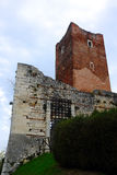Ancient castle of Juliet in Montecchio Royalty Free Stock Images