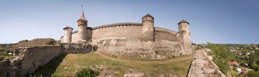 Ancient castle. Kamenetz-Podolsk, Ukraine Royalty Free Stock Photography