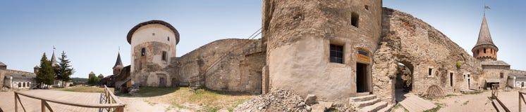 Ancient castle. Kamenetz-Podolsk, Ukraine Royalty Free Stock Images