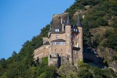 Ancient castle Katz, Germany, Royalty Free Stock Image