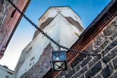 Ancient castle lantern Royalty Free Stock Image