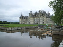 Ancient castle. Castle in the Loire Valley in France Stock Image