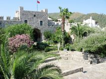 Ancient castle in marmaris turkey Royalty Free Stock Photography