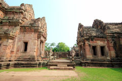 Ancient castle (panomrung). Ancient castle panomrung at Burirum , Thailand Stock Image