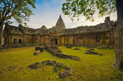 Ancient Castle Phanom Rung Stock Image