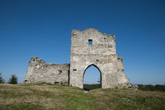 Ancient castle ruins Stock Photography