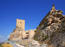 Ancient Castle Sax in Alicante Spain. Royalty Free Stock Image
