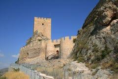 Ancient Castle Sax in Alicante Spain. Royalty Free Stock Photos