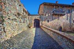Ancient castle. Serralunga D'Alba, Italy. Royalty Free Stock Photos