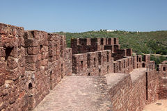 Ancient castle in Silves, Portugal royalty free stock images