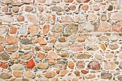 Ancient castle stonewall Stock Photography
