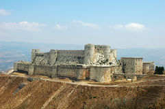 Ancient castle in Syria Royalty Free Stock Photo