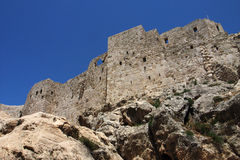 Ancient castle in Syria Royalty Free Stock Images