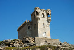Ancient castle in Tarifa Spain Royalty Free Stock Images