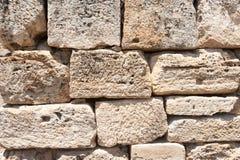 Ancient castle texture Stock Image