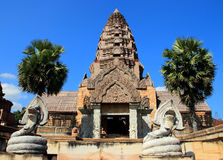 The ancient castle, Thailand Royalty Free Stock Photo