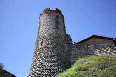 Ancient castle Tower Royalty Free Stock Image