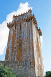 Ancient castle tower in Beja villa in Portugal. Royalty Free Stock Photography