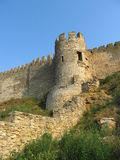 Ancient castle tower Stock Photography