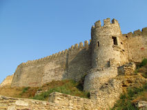 Ancient castle tower Royalty Free Stock Photography