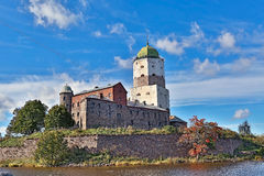 Ancient castle in Vyborg Royalty Free Stock Photography