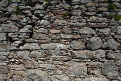 Ancient castle wall Royalty Free Stock Images